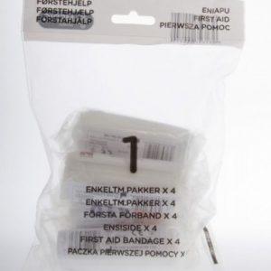 Enkeltmannspakke x 4